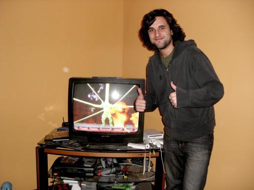 Seth Beats Mortal Kombat