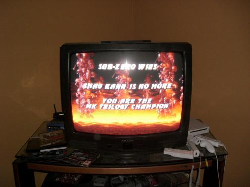 Seth Beats Mortal Kombat 4