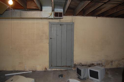 basement door