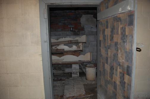 basement door open